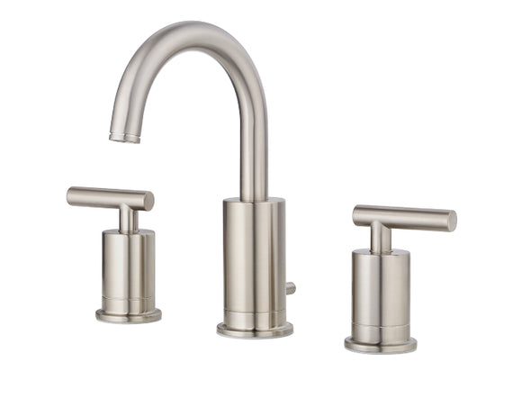 Pfister Contempra Widespread Bath Faucet in Brushed Nickel - SpeedySinks