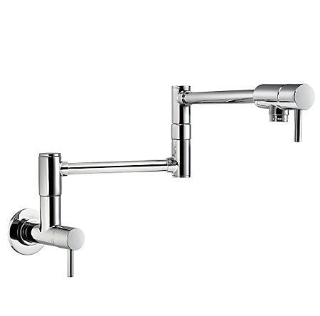 Pfister Lita Wall Mount Pot Filler in Chrome - SpeedySinks