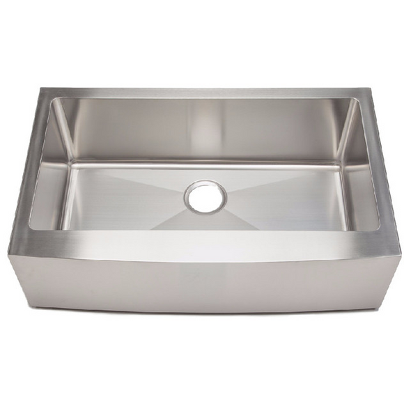 Master Chef Marseille-33 Radial Stainless Steel Culinary Sink - Chariotwholesale