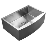 Master Chef Marseille-33 Radial Stainless Steel Culinary Sink - SpeedySinks