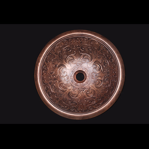 Itanos Bronze Bathroom Sink - SpeedySinks