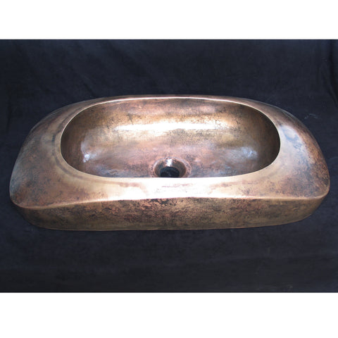 Laodicea Bronze Bathroom Sink - SpeedySinks