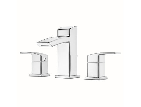 Pfister Kenzo Widespread Bath Faucet in Chrome