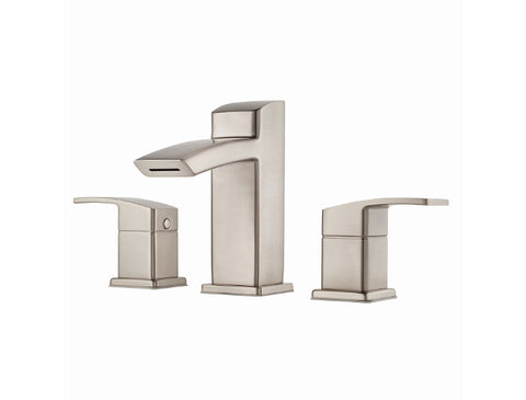 Pfister Kenzo Widespread Bath Faucet in Brushed Nickel