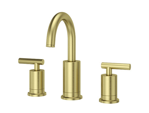 Pfister Contempra Widespread Bath Faucet in Brushed Gold - SpeedySinks