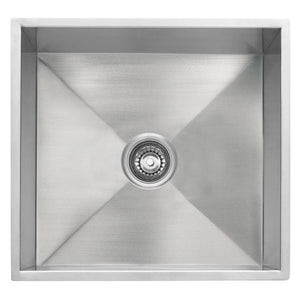 Master Chef Metz Stainless Steel Bar/Utility Sink - SpeedySinks