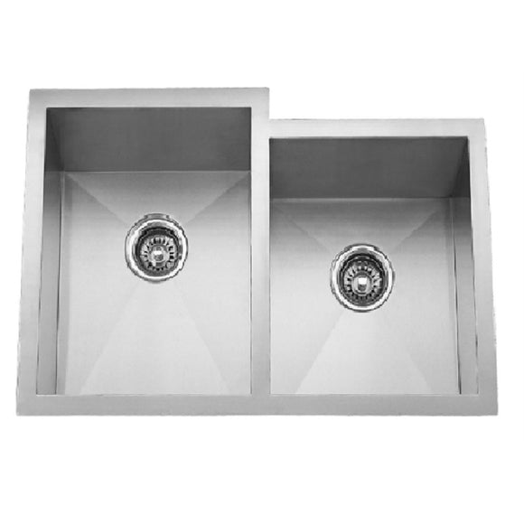 Master Chef Montpellier Reverse Stainless Steel Double Bowl Culinary Sink