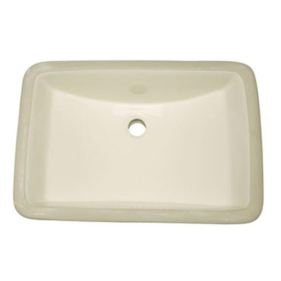 Oasis Phoenix Biscuit Small Bathroom Porcelain Sink