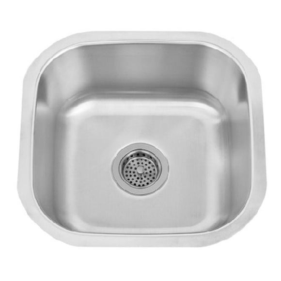 Polk Bar Presidential 18 Gauge Undermount Sink - SpeedySinks