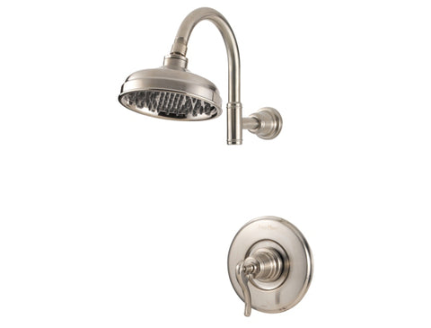 Pfister Ashfield 1-Handle Shower, Trim Only in Brushed Nickel - SpeedySinks