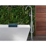 Pfister Modern Free Standing Tub Filler in Chrome - SpeedySinks