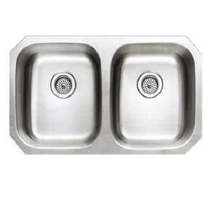 Presidential Adams Small 18 Gauge Undermount Stainless Steel Sink - SpeedySinks