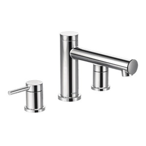 Moen Align Chrome Two-Handle Non Diverter Roman Tub Faucet - SpeedySinks