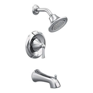 Moen Wynford PosiTemp Tub/Shower Trim Only in Chrome - SpeedySinks