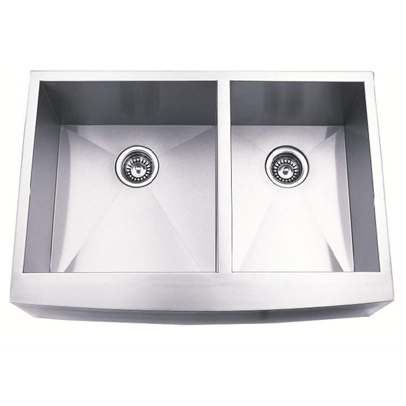 Master Chef Toulouse-36 Stainless Steel Double Bowl Culinary Sink - Chariotwholesale