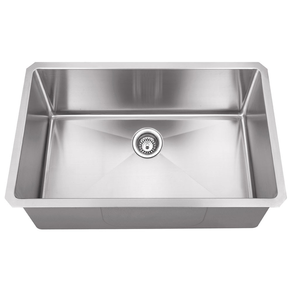 Master Chef Versailles-30 Radial Stainless Steel Culinary Sink - SpeedySinks