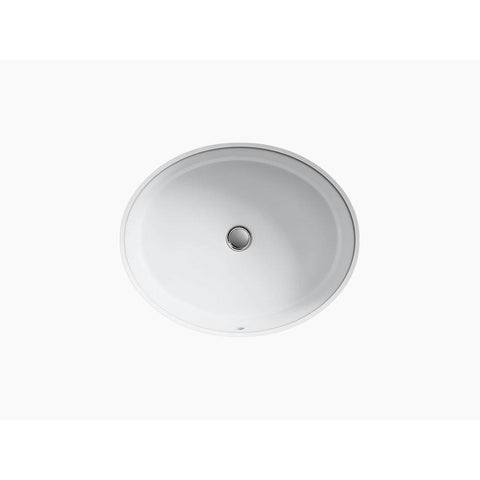 Tideway Oval Bathroom Porcelain Sink