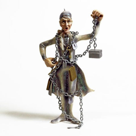 Jacob Marley Resin Ornament