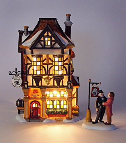 Department 56 2011 Annual Holiday Set with AccessoryDickens Village The Smoking Bishop, Set of 2