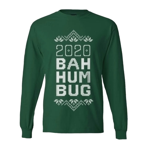 "Bah Humbug ""Ugly Sweater"" Long Sleeve T-shirt"