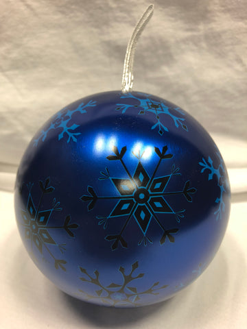 Snowflake Ornament Tin