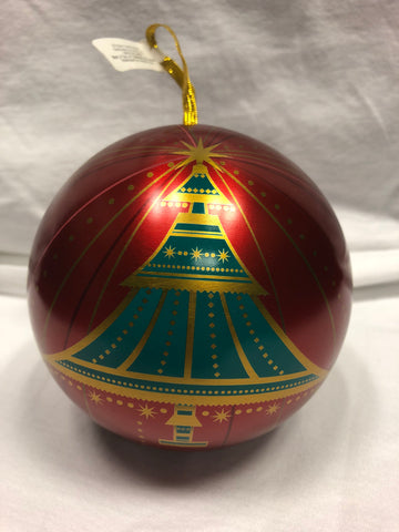 Christmas Tree Ornament Tin