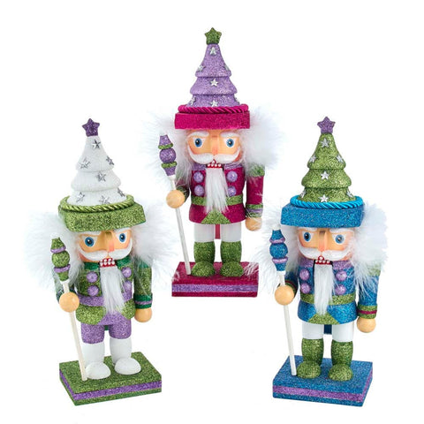 "Kurt Adler 9.5"" Tree Hat Nutcracker"