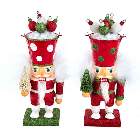 "Kurt Adler 7.5"" Bucket Hat Nutcracker"