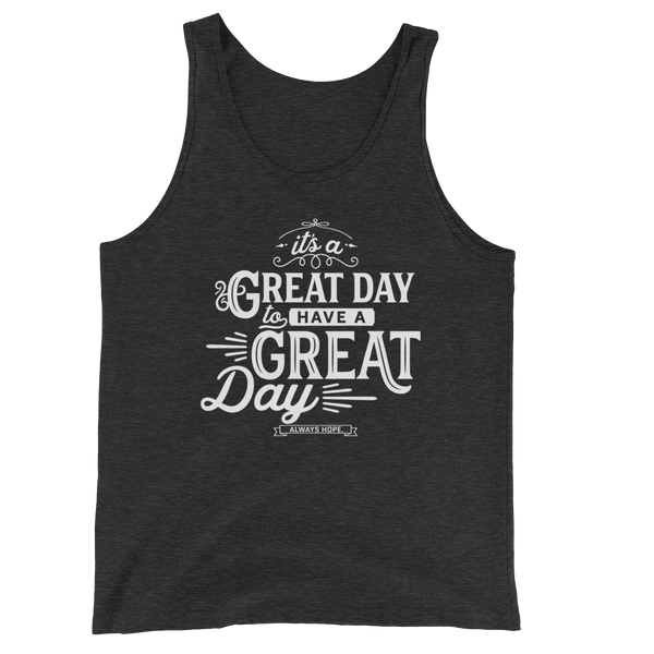 GREAT DAY // CHARCOAL TANK