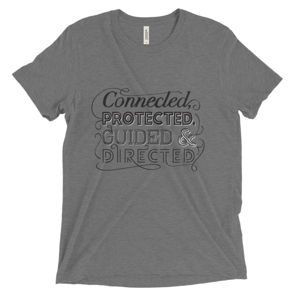 Divine Connected Unisex/Men's T-shirt (Black Logo)
