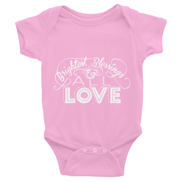 Divine Blessings Onesie (White Logo)