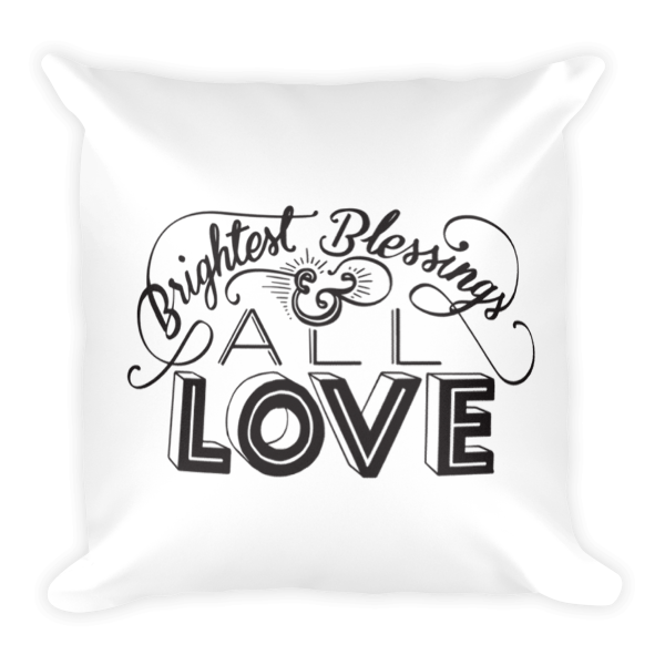 Divine Blessings Pillow