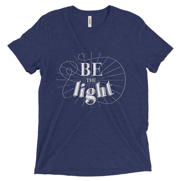 Divine Light Unisex/Men's T-shirt (White Logo)