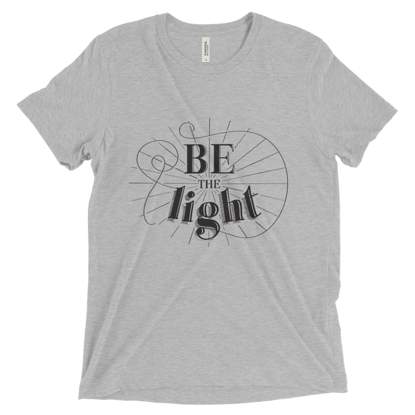 Divine Light Unisex/Men's T-shirt (Black Logo)