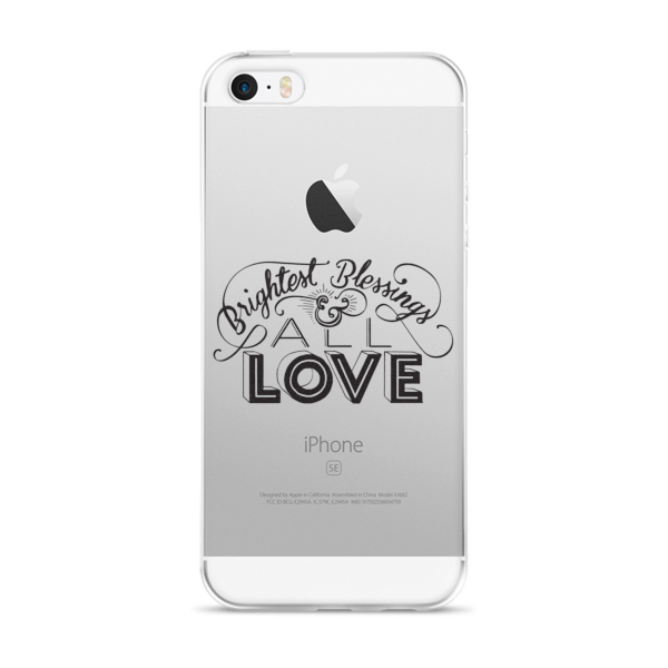 Divine Blessings iPhone Case