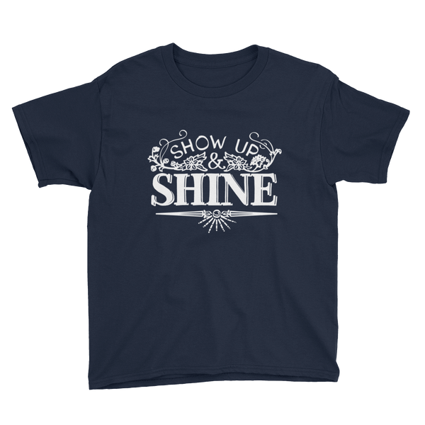 Divine Shine Youth T-Shirt (White Logo)