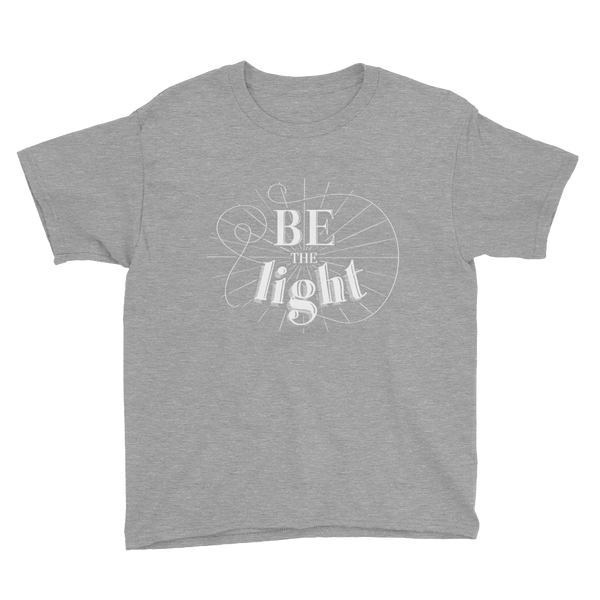 Divine Light Youth T-Shirt (White Logo)