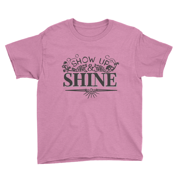 Divine Shine Youth T-Shirt (Black Logo)