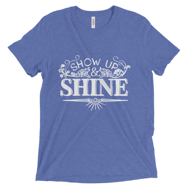 Divine Shine Unisex/Men's T-shirt (White Logo)