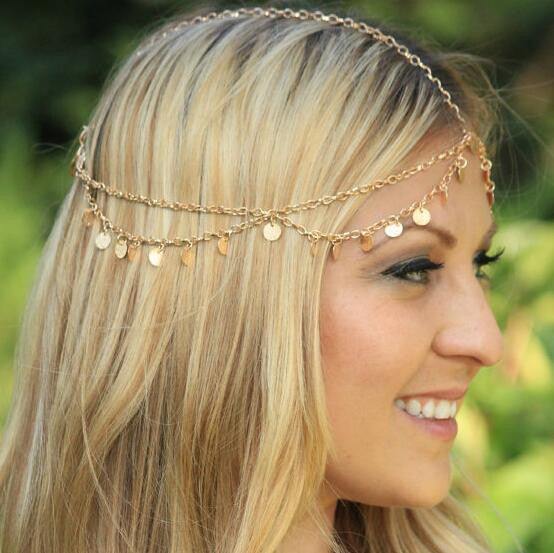 Sequins Tassel Head Chain