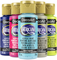 DecoArt Americana Paints, 2 ounce
