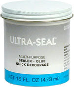 ULTRA SEAL, 16 ounce   #00159 - Creative Wholesale