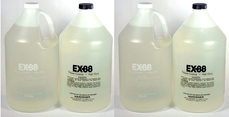 EX-88 Epoxy Coating Case of 4 Gallons  01188 CASE