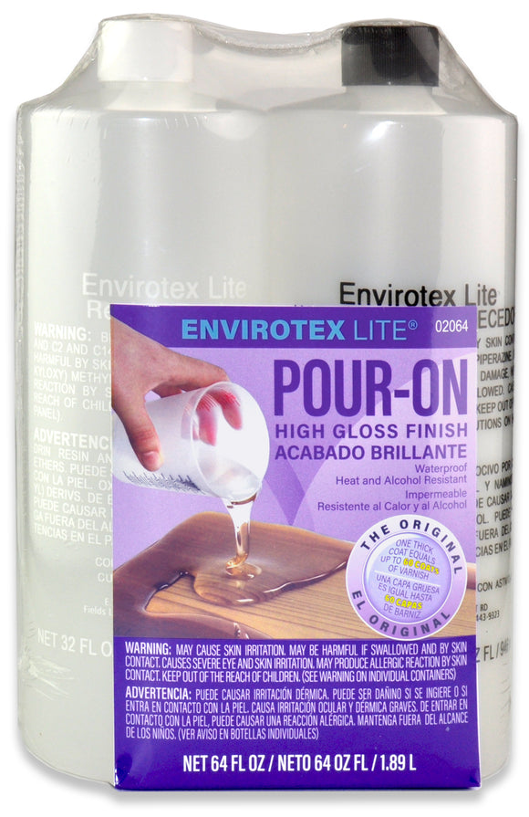Envirotex Lite 64 ounce Kit  #02064 - Creative Wholesale