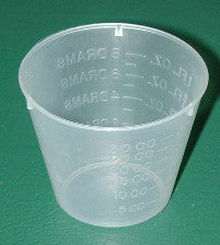 Mixing Cup Graduated 1 oz,  100 per case   1030C - Creative Wholesale