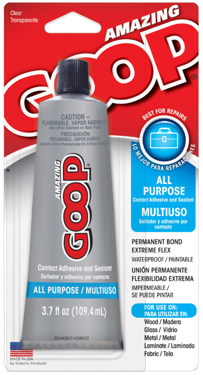 Amazing Goop, 3.7 ounce Tube, Case/6 #140211C - Creative Wholesale