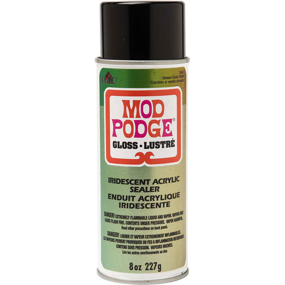 Mod Podge ® Iridescent Acrylic Sealer - Green to Gold Shift, 8 oz. - 1547