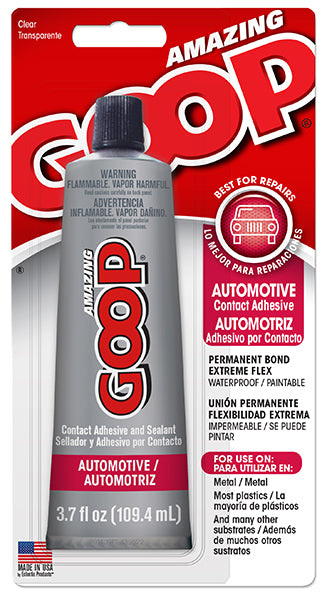 Amazing Goop Automotive, 3.7 ounce Tube, Case/6 #160011C - Creative Wholesale