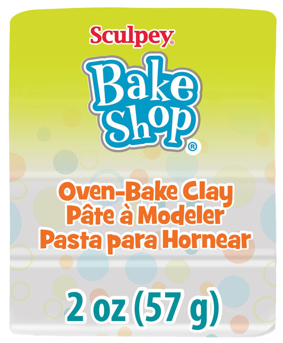 Bake Shop by Sculpey® 2oz  White BA02 1802 - Creative Wholesale