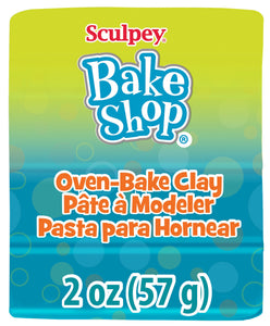Bake Shop by Sculpey® 2oz Turquoise BA02 1821 - Creative Wholesale